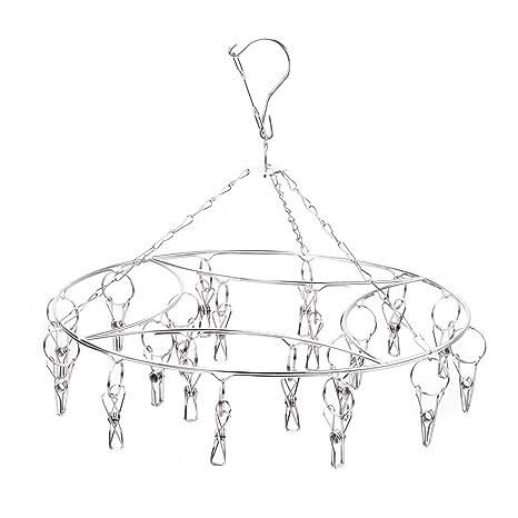 Amazon.com: Lavandería tendedero Hanging Rack para ropa de ...