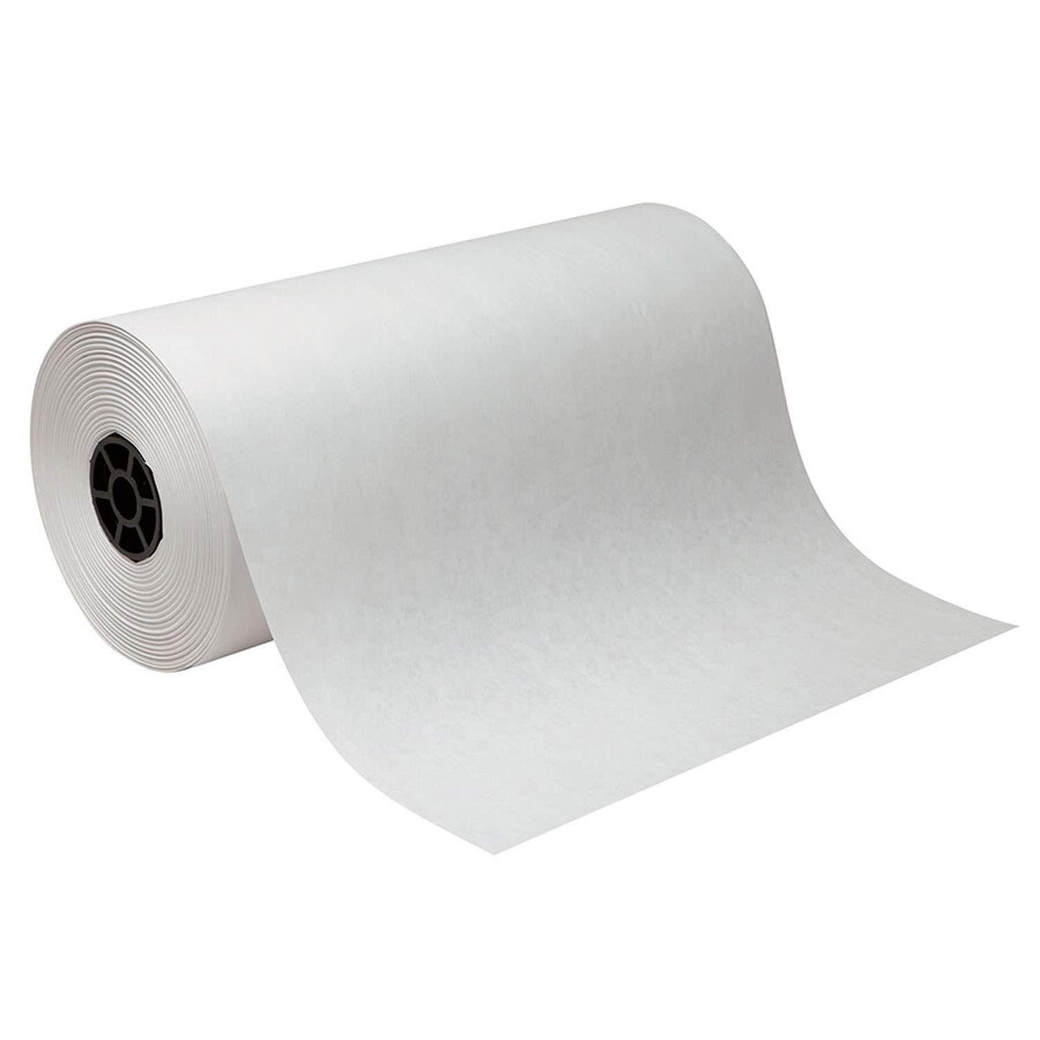 Pacon PAC5618 Lightweight Kraft Roll, White, 18'' x 1000', 1 Roll by PACON