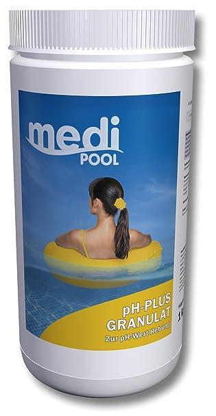 Ordentlich ph Heber, pH Plus Granulat 1 KG mediPOOL: Amazon.de: Garten CW55