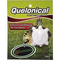 BIOMAA Quelonical 1 pz, Pastilla complemento de minerales para Tortugas semiacuáticas, Caja con 20 Piezas