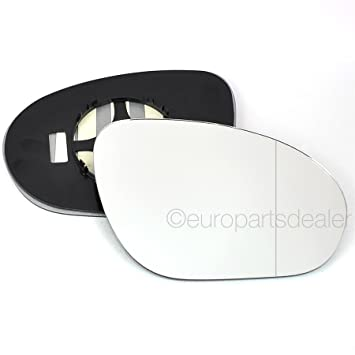 Lfs Wing Door Mirror Glass Replacement Driver Side Wide Angle
