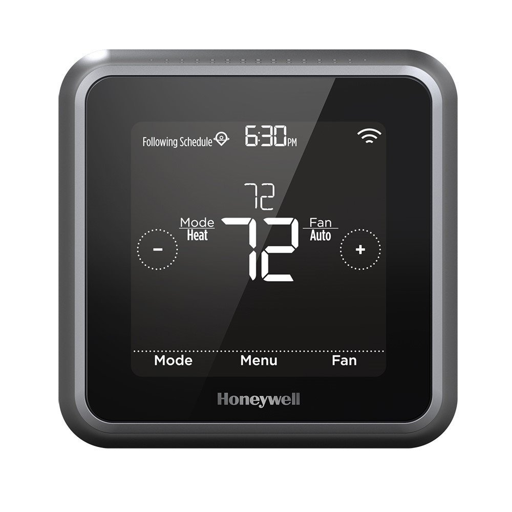 Honeywell RCHT8610WF2006 Lyric T5 Wi-Fi Smart 7 Day Programmable Touchscreen Thermostat with Geofencing, Requires C Wire, Works with Alexa by Honeywell (Image #1)