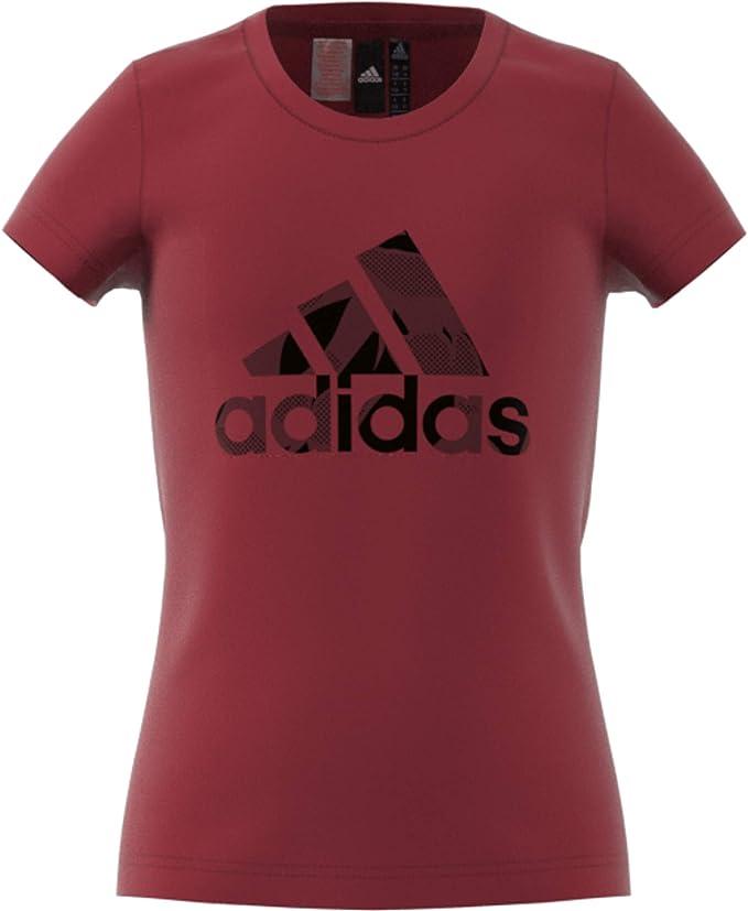adidas Logo tee - Logo Niñas: Amazon.es: Ropa y accesorios