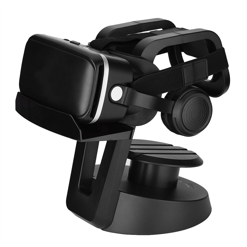 fosa Universal VR Headset Holder, VR Head-mounted Display Stand and Cable Management Organizer for PS4 PSVR/HTC VR