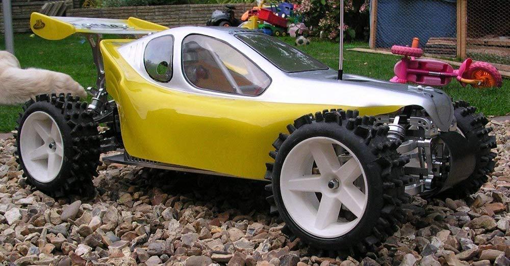 Black Leopard /& Carson cars Wheels /& Tyres Set of 4 J/&A Racing International Unisexs T3 Mamba FG Modelsport Marder 125mm Diameter