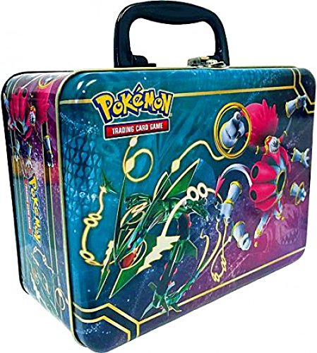 Pokemon TCG Collector Chest Lunchbox Tin 2015 Sealed Featuring Rayquaza & Hoopa EX ()