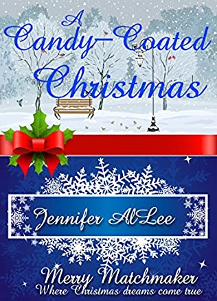 book cover of A Candy-Coated Christmas