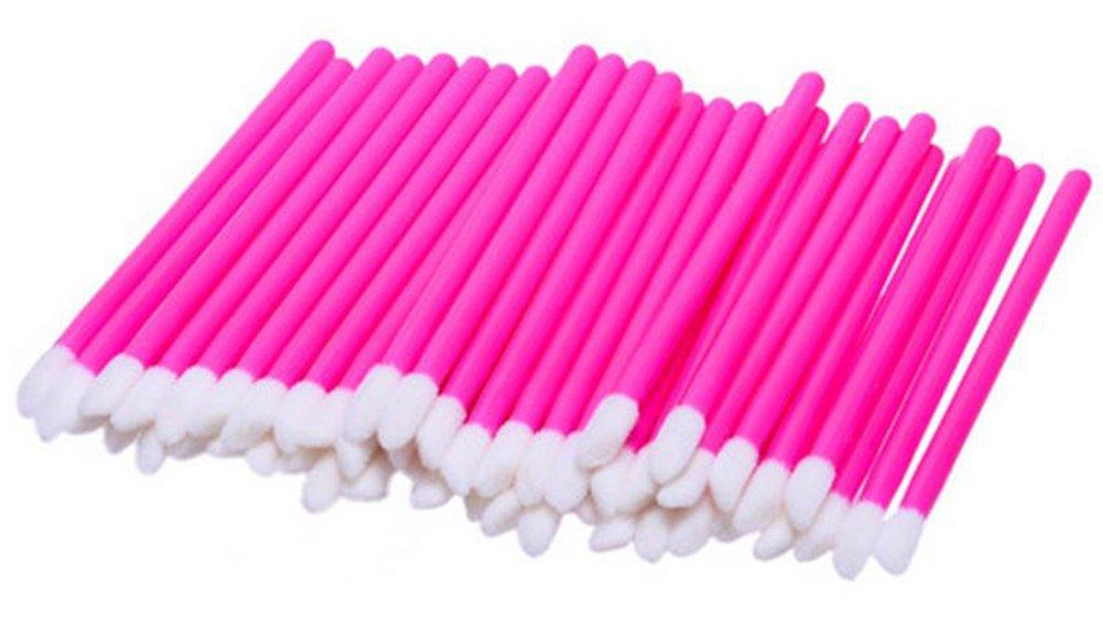 Da.Wa 50 Pcs Disposable Lip Brushes Women Lipstick Lip Gloss Applicator Makeup Tool