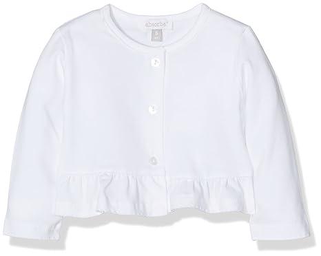 1ef29f6e11587 Absorba Boutique Fleur, Gilet Bébé Fille 0-24m, Blanc, FR (Taille ...