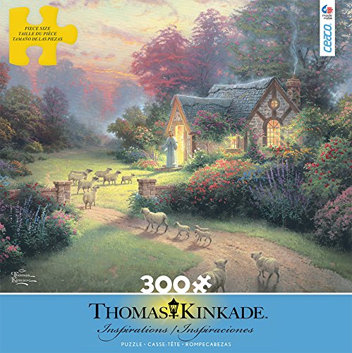 Ceaco Thomas Kinkade Inspirations The Good Sheperd's Cottage Puzzle (300 Piece)