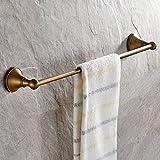 Leyden Antique Bathroom Accessories Brass Towel Bar Home Decor Towel Holder Towel Bars Wall maounted