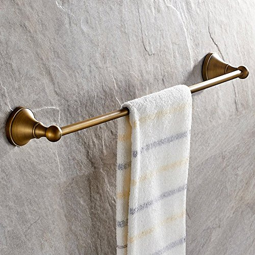 Leyden Antique Bathroom Accessories Brass Towel Bar Home Decor Towel Holder Towel Bars Wall maounted (Towel Bar Bathroom Accessory Antique)
