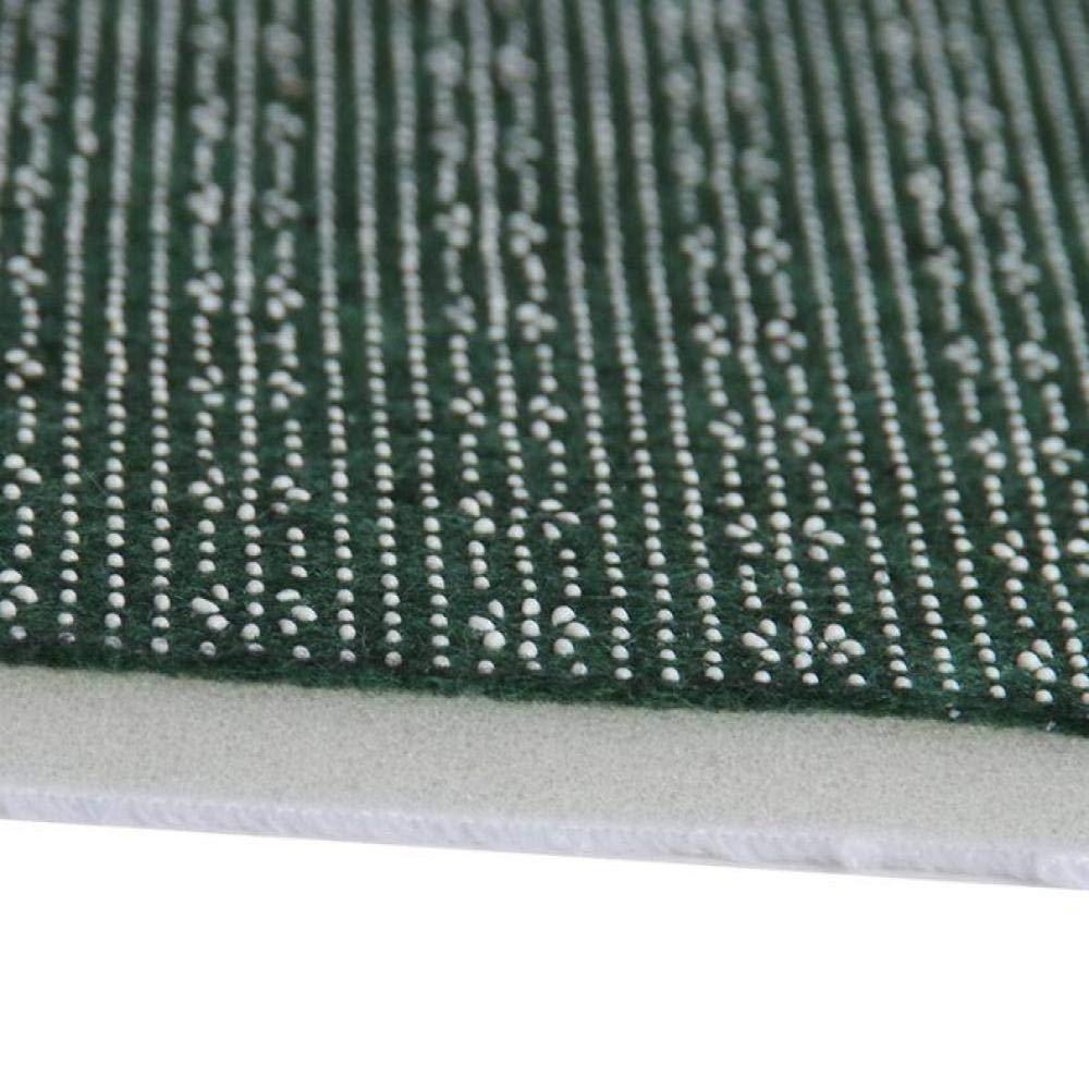 Breite und L/änge 40 * 60cm saugf/ähig Farbe verblasst Wohnzimmer Schlafzimmer Teppich ZYT Antibakteriell pflegeleicht Flanell-Matte fusselfrei rutschfest Einstiegsleiste