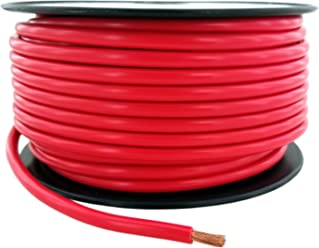 Amazon gs power primary wire 8 awg american wire gauge 100 ft red copper clad aluminum primary wire keyboard keysfo Image collections