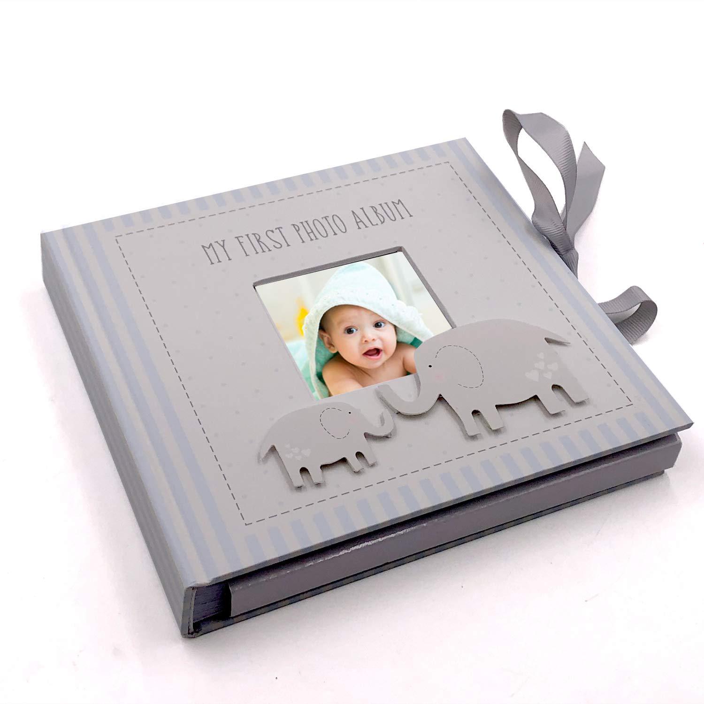 Baby Boy My First Photo Album 4x6 holds 50 photos