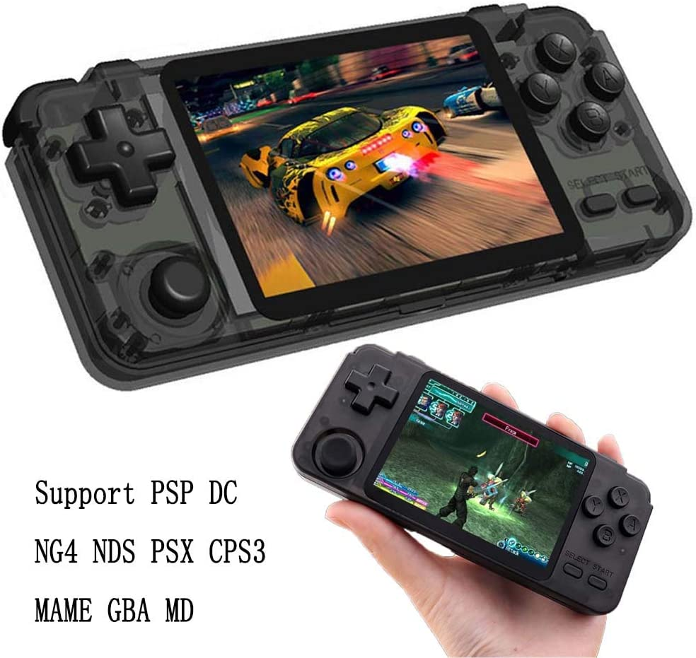 SODIAL X7Plus Handheld Game Console Dual Joystick Nostalgic 5.1 Inch HD Large Screen Handheld Game Console