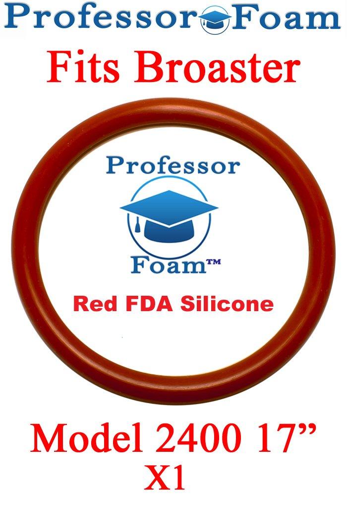 Professor Foam Fits Broaster, Cover O-Ring For Model 2400, 17'' Installed Diameter by Professor FoamTM