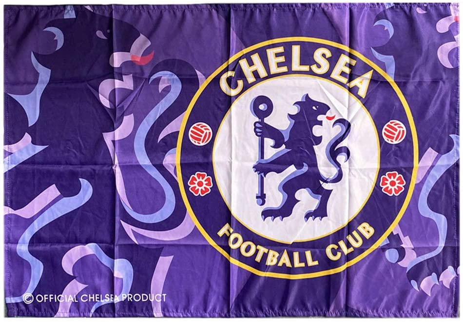 AYCJK33 Football Club Flag Banner Vivid Color and UV Fade Resistant Hanging Flags for Garden//Club//Bar//Decor