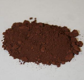 EZ tinte marrón: 3 gramos concentrado teñido polvo de pigmento colorante. Epoxis, poliésteres y cementos. Mezcla de óxido de hierro (Brown)
