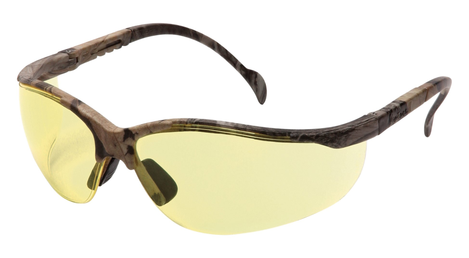 Pyramex Venture Ii Safety Eyewear, Amber Lens With Realtree Hardwoods Hd Frame by Pyramex Safety