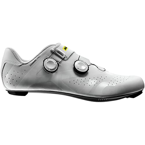 Mavic Cosmic Pro - Zapatillas - Blanco/Blanco/Negro Talla del Calzado UK 10 / EU 44 2/3 2019: Amazon.es: Zapatos y complementos