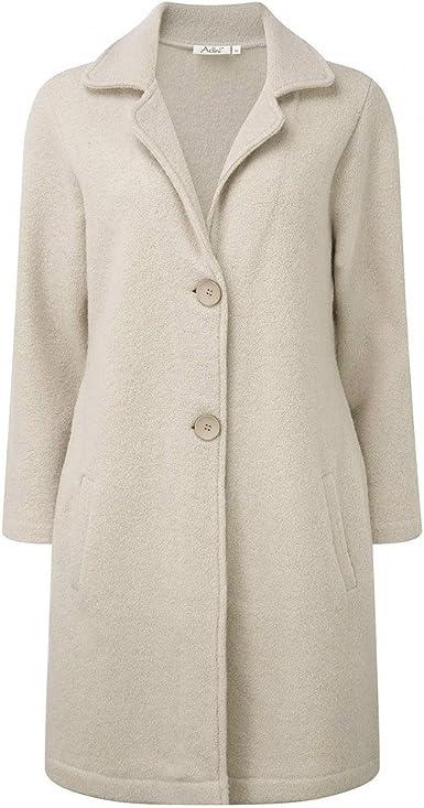 Adini Boiled Wool Coat   eBay