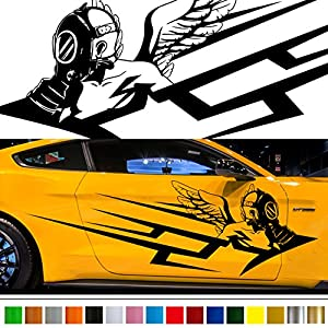 Amazoncom Angel Tribal Car Sticker Car Vinyl Side Graphics - Graphics for the side of a car