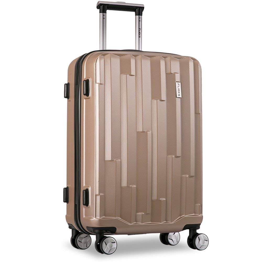M Flieks/® Maleta r/ígida con 4 ruedas dobles equipaje de mano cerradura de combinaci/ón
