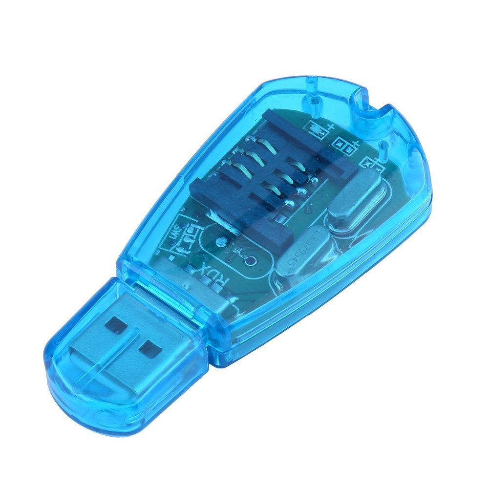 Adaptador de Lector de Tarjetas SIM USB para teléfono Móvil ...