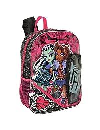 """Monster High 16"""" Backpack Bonus Id Holder & Organizer"""