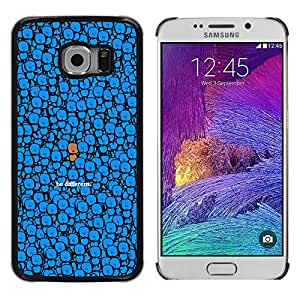A-type Arte & diseño plástico duro Fundas Cover Cubre Hard Case Cover para Samsung Galaxy S6 EDGE (NOT S6) (Lindo - Ser Diferente)