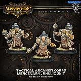 Privateer Press Mercenaries -Tactical Arcanist Corps Model Kit