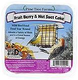 Pine Tree Farms Fruit Berry & Nut Suet Cake 12 Oz