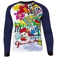 Qianliuk Cool Impreso a Prueba de Viento Camisetas