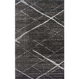 Nuloom 5′ x 8′ Thigpen Rug in Dark Gray Review
