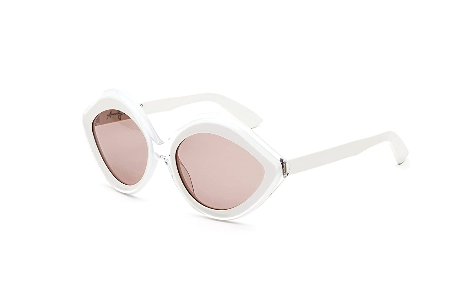 abd0fdb3781 Amazon.com  Retrosuperfuture Andy Warhol BabyBaby White Clear Fashion Sunglasses  Super-F3C  Clothing