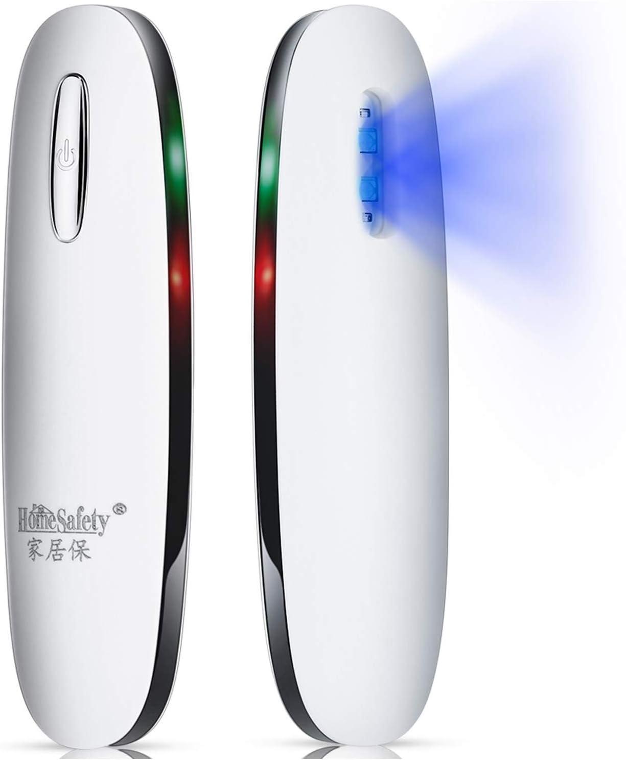 USB Tragbares UV-Lampe Zerst/örung 99/% Mini UV-C Stick f/ür Handy//M/öbel//Kinderspielzeug//Stoff//Toilette//Kosmetik LED tragbarer Reisestick BILLION DUO UV Hand-Held Licht 2STK