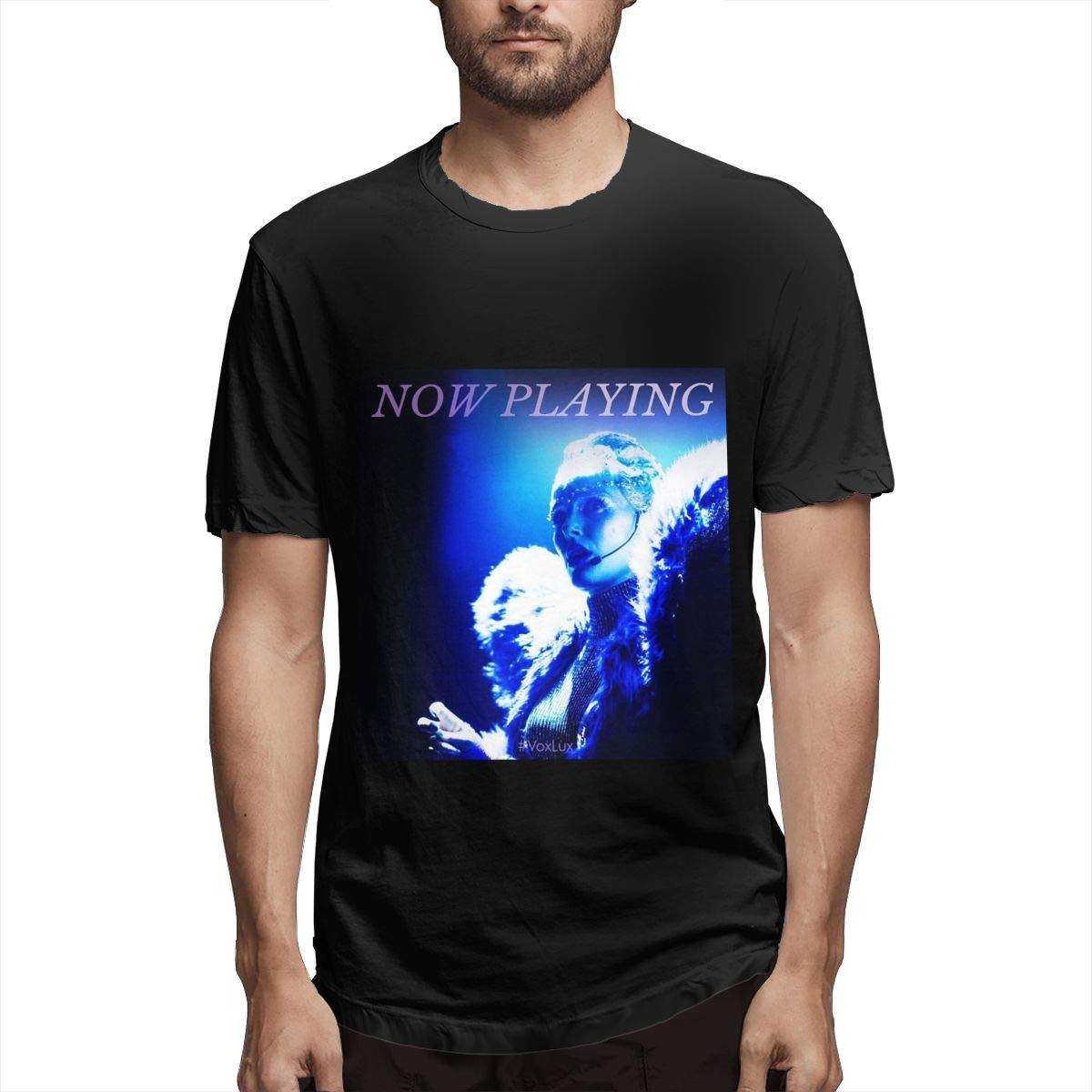 Lihehen Mans Natalie Portman Simple Casual Round Neck T Shirt