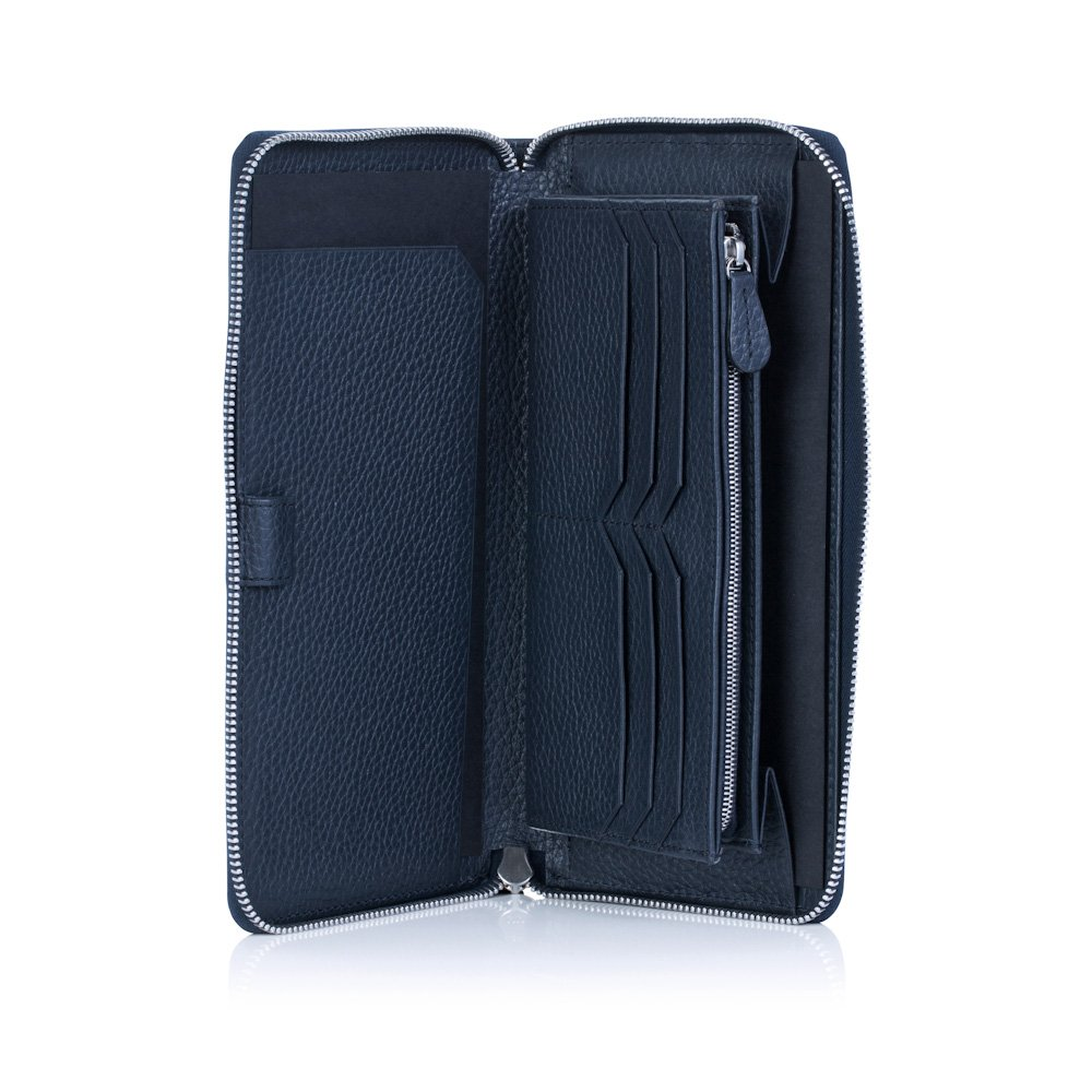David Hampton Richmond Leather Travel Wallet 598-RMSG