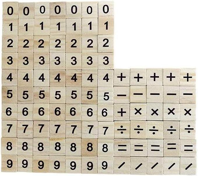 100 Piezas de Alfabeto de Madera Scrabble azulejo Letras números niños Juguetes educativos para Juegos de Mesa Marco de Boda Arte de Pared reemplazo Craft Scrapbooking: Amazon.es: Juguetes y juegos