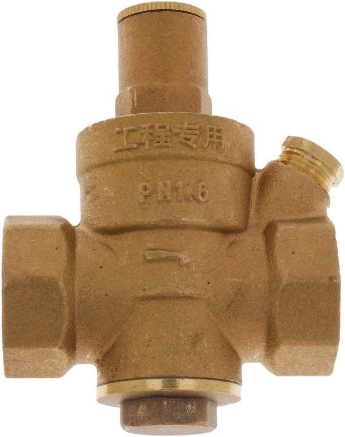 PN 1.6MPa HZR DN20 G 3//4 Messig Water Pressure Reducing Valve Water Pressure