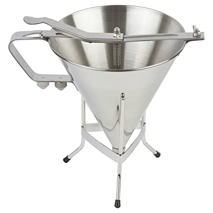 Professional Confectionery Funnel Stainless Steel With Three Nozzles