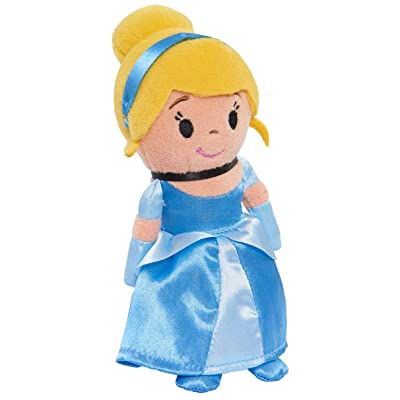 "Disney Princess Cinderella Stylized 5"" Bean Plush Doll, Multicolor: Toys & Games"