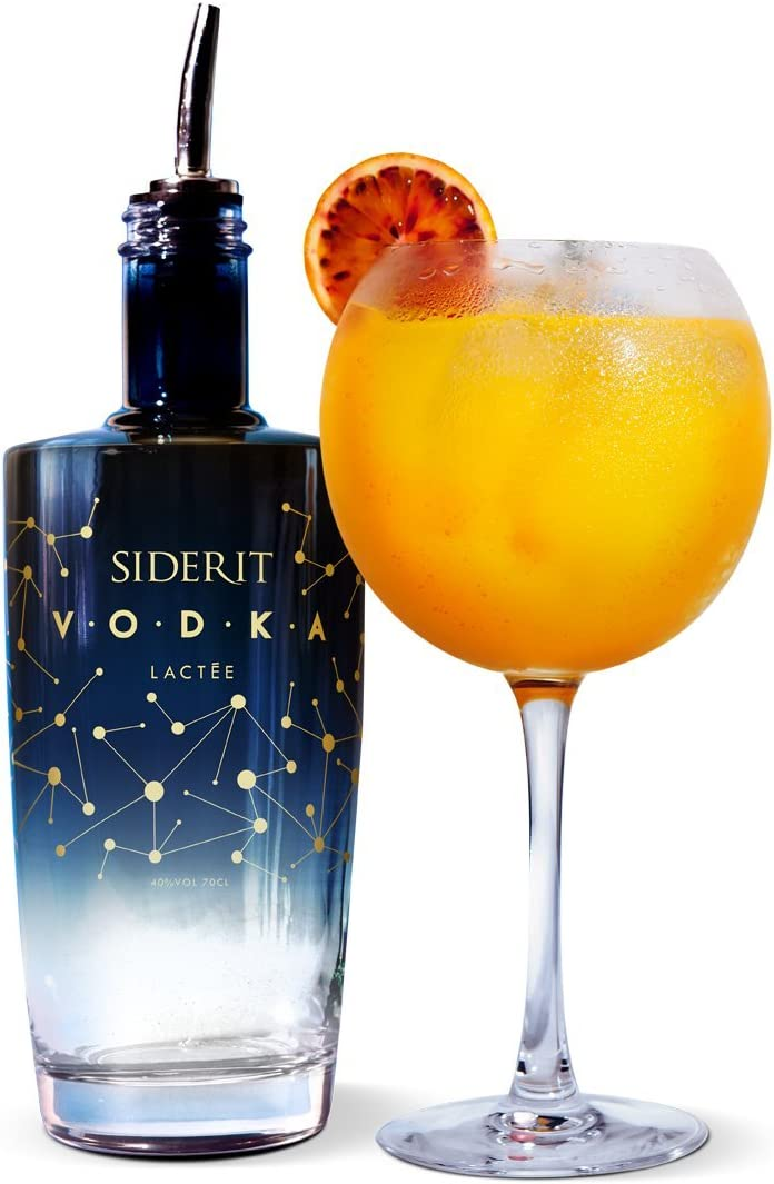Vodka Siderit Lacteé 70cl. 40% Vol.: Amazon.es: Alimentación y bebidas