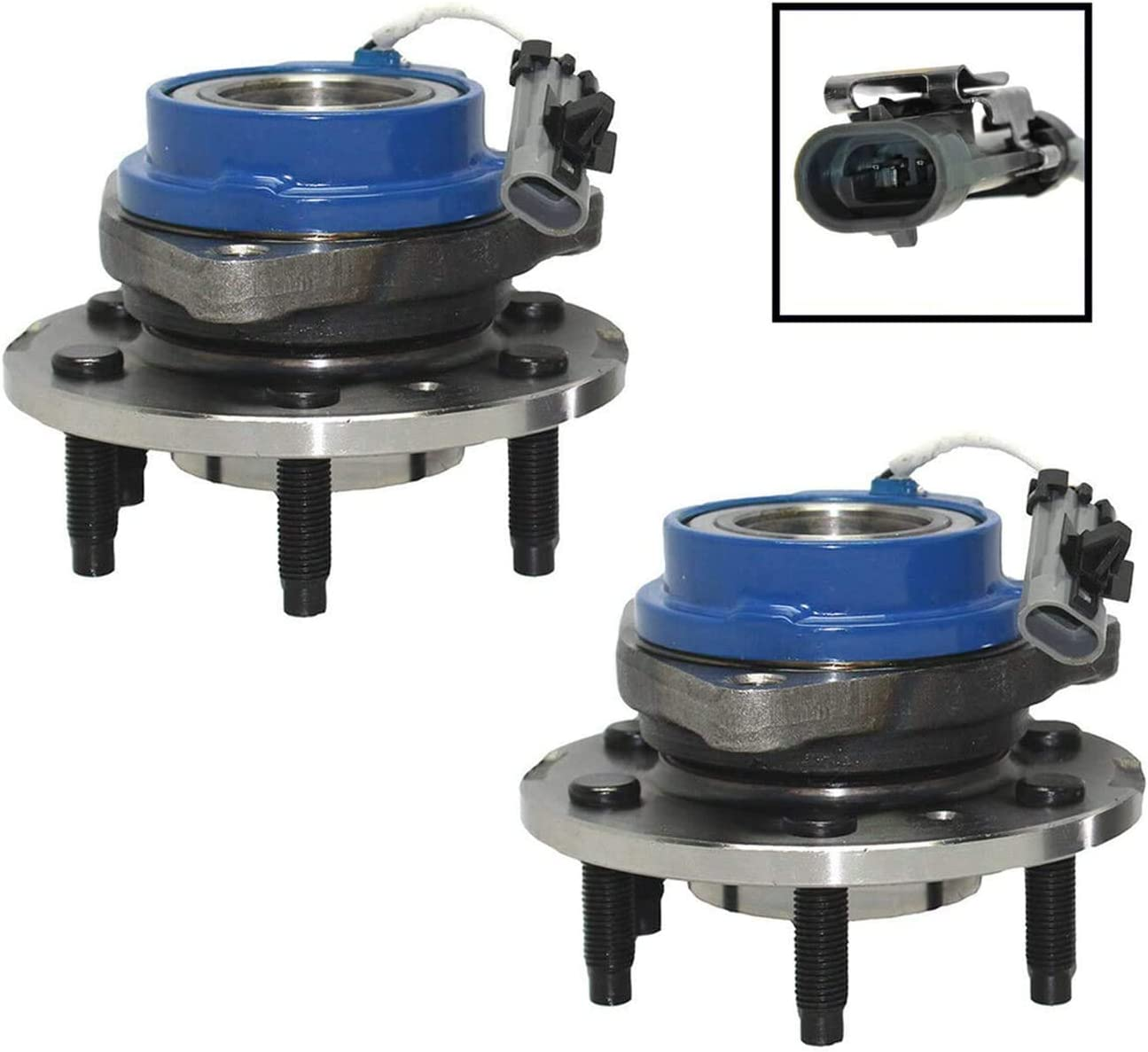Bodeman - Pair 513121 Front Wheel Bearing for Cheap Assembly Hub Bui Dallas Mall