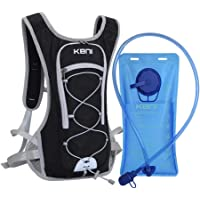 KBNI Hydration Pack with 2L Water Bladder for Women Men Kids - This Backpack Keeps You Cool and Great for Outdoor Sports of Running Hiking Camping Climbing Cycling Skiing