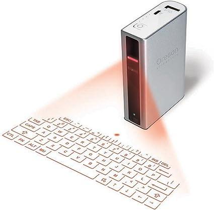 Oregon Scientific KB501P Bluetooth QZERTY Italiano Plata teclado para móvil - Teclados para móviles (Plata, QZERTY, Italiano, Integrado, 3,7 V, ...