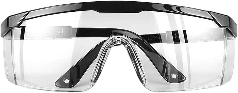 Letuwj - Gafas de seguridad antivaho resistente a los rayos UV con patillas ajustables