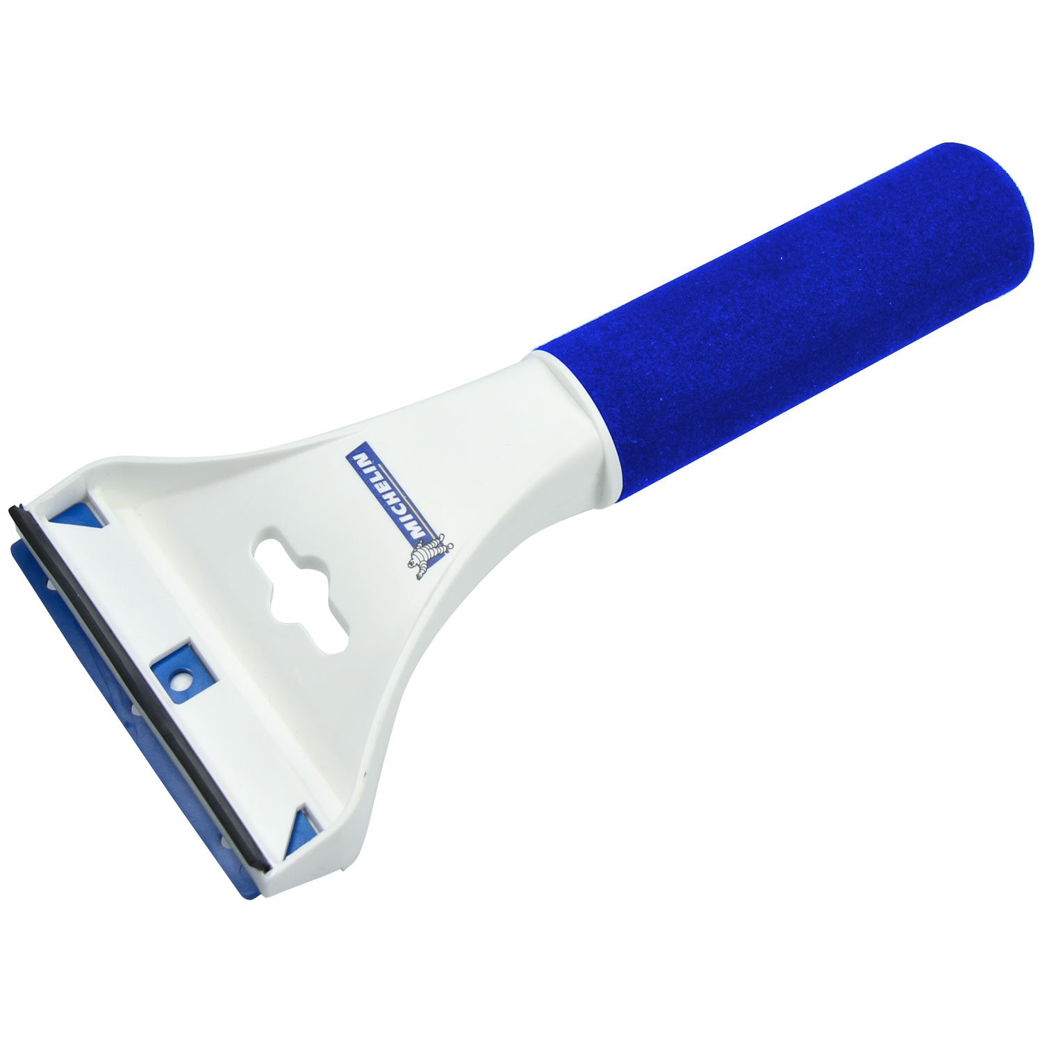 Michelin 92100 Ice scraper made of high-impact proof polystyrene - Blue/white