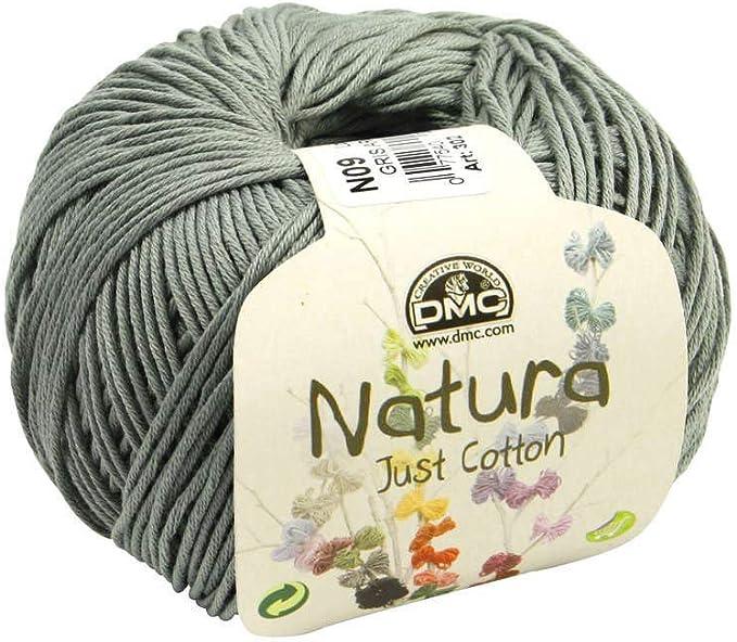 DMC: algodón Natura: gris plata: Amazon.es: Hogar